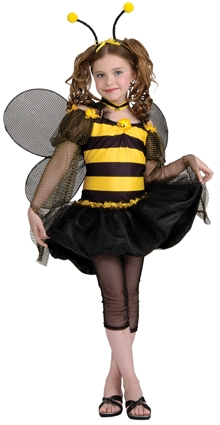 Sweet bee costume tween 886118  sc 1 st  Fancy Dress Factory & Fancy Dress Factory.... Girls: Teenager and Tween