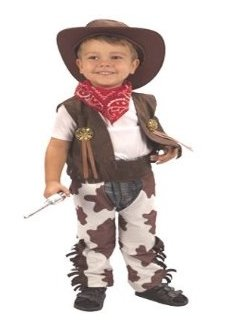 Toddler Cowboy Costume CC016
