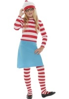 Where's Wally Wenda Costume ef-38793L