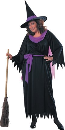 Wicked witch costume adult 17404 plus size